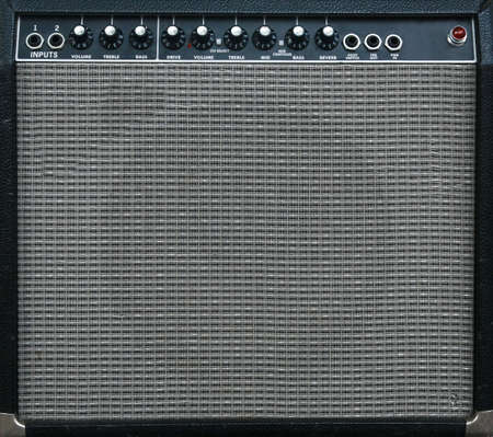 guitar amplifier background  Standard-Bild