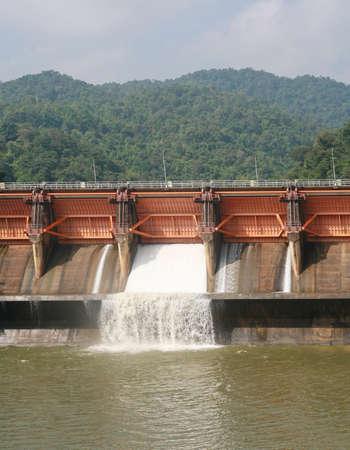 Kewlom dam, Lampang province , Thailand  photo