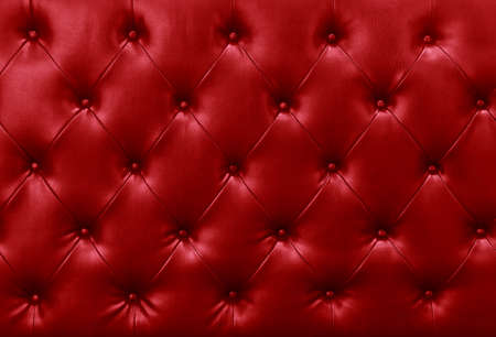 red sofa leather background photo