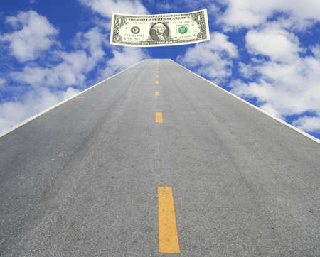 Road to make money  photo