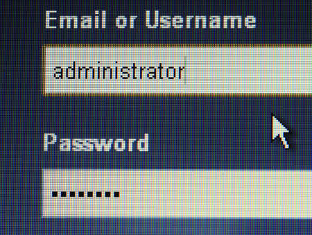 login username password , led monitor  photo