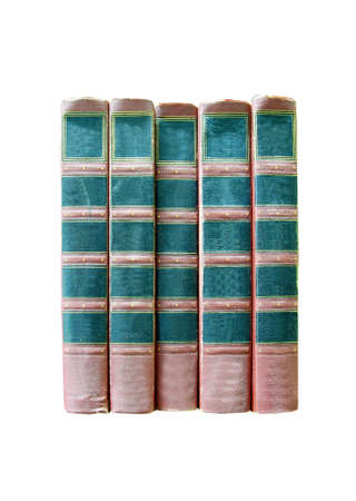 literary: old book isolated
