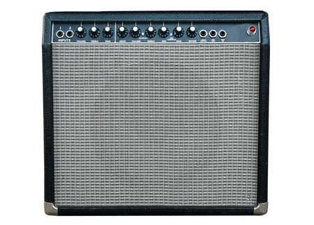 amp: guitar amplifier