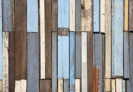 wooden fence: Old wood fence