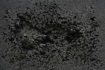 black rubber damaged background,abstract background  photo