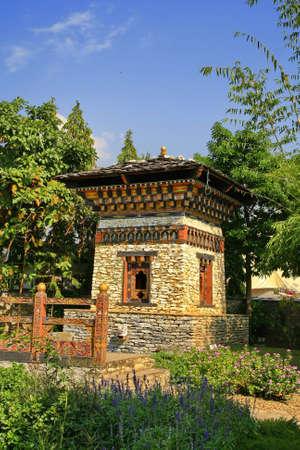 tibetan house: Bell Tower,Bhutan
