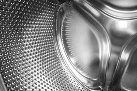 Washing machine drum  Stock Photo