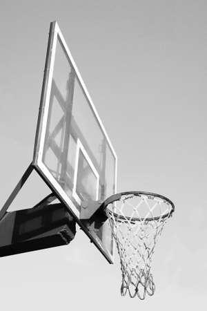 iron hoops: Basketball hook