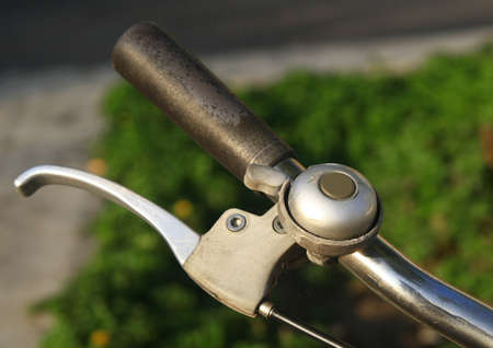 old bicycle bell  photo