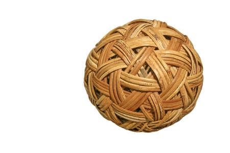 weave ball: Bamboo ball