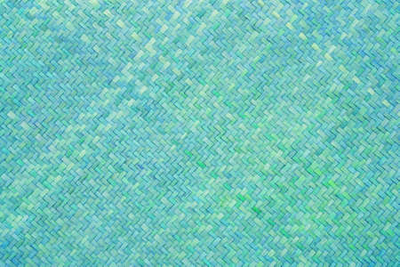blue bamboo craft texture  Stock Photo