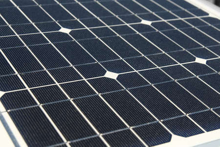 solarcell: close up electric solar cells