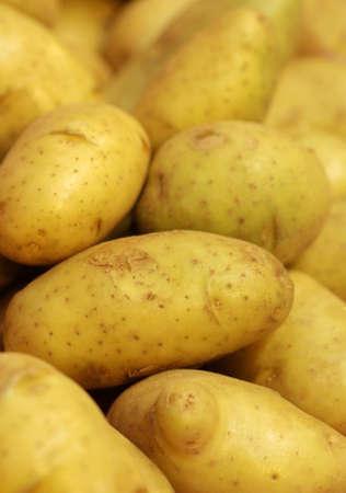 close up fresh potato in market Stock Photo - 25606709