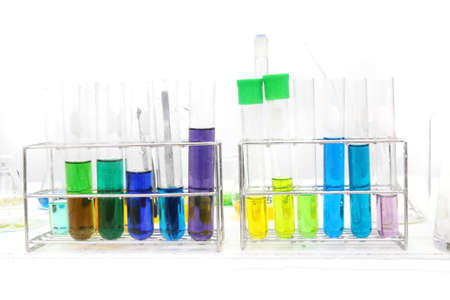 colorful test tube, Chemical, Science, Laboratory, photo