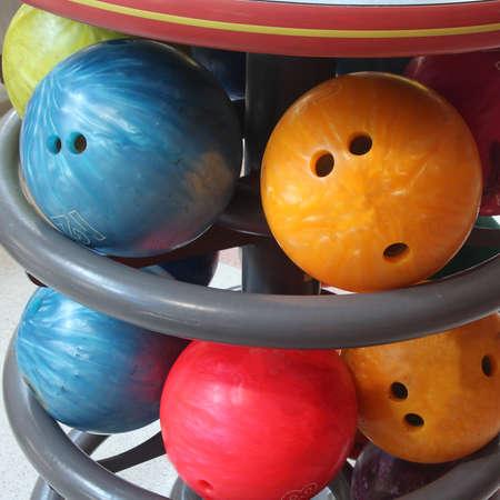 bolos: close up bola de bolos para el juego