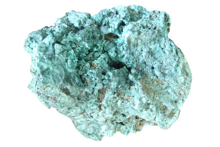 hydroxide: close up malachite stone , green mineral