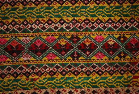 cotton fabric: vintage cotton fabric texture background, Thai style