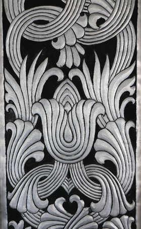 art and craft: silver art craft texture background, Thailand