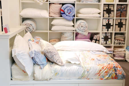 bedspread: pillow and quilt ,bed room accessories