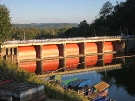 province: Kewlom dam, Lampang province , Thailand Stock Photo