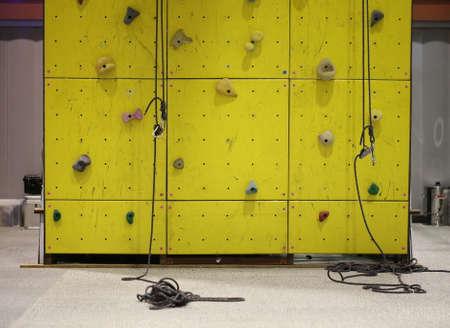 Climbing simulator wall