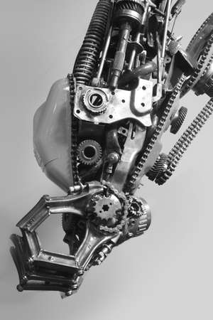 robot arm: robot arm, machinery part background