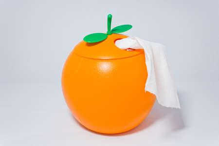 tissues: The tissues orange box