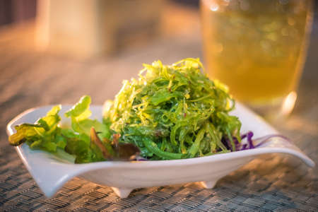 Seaweed Salad Reklamní fotografie