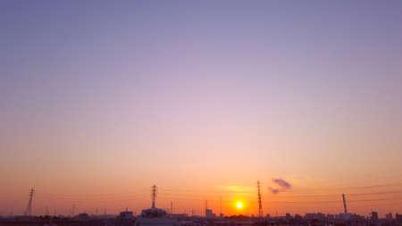 Sunrise 写真素材