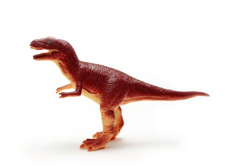 A toy of Tyrannosaurus Rex Banque d'images