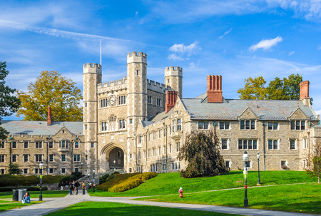 honored: Princeton University, one of famous American universities