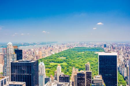 Central Park aerial view Фото со стока