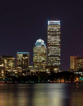 boston cityscape: Boston cityscape Stock Photo