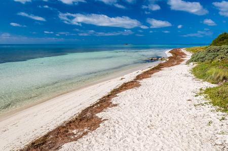 honda: Tropical beach at Bahia Honda Key, Florida, US Stock Photo