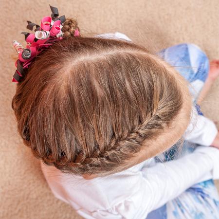 kids weaving: Kids hairstyle