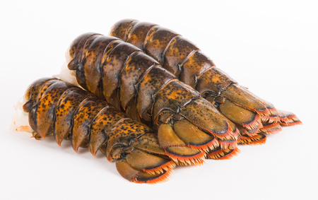 Lobster tails Standard-Bild
