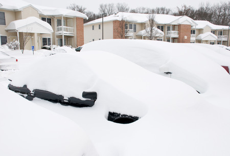 snowfalls: Morning after two days of snowfalls