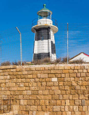 ancient near east: Lighthouse with blue sky on the background