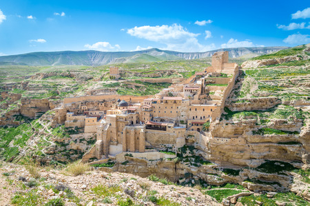 sanctified: Holy Lavra of Saint Sabbas the Sanctified, known in Arabic as Mar Saba