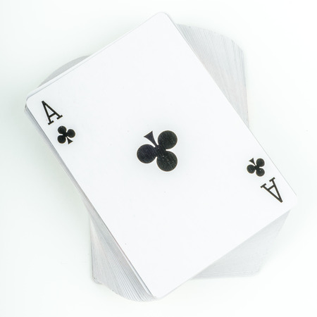 twisted: Paper playing cards in a twisted deck