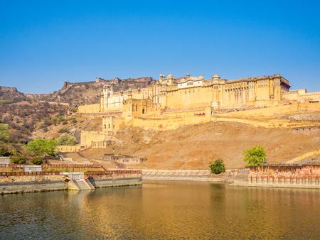 amber fort: Amer (Amber) Fort, Jaipur, Radjasthan, India