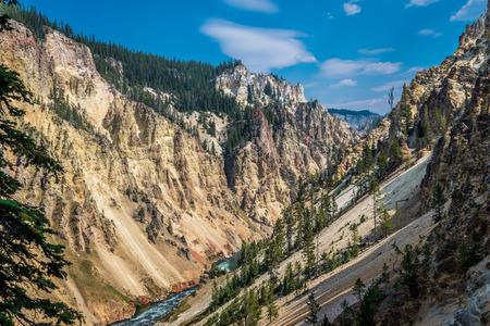 Landmark of Yellowstone National Park