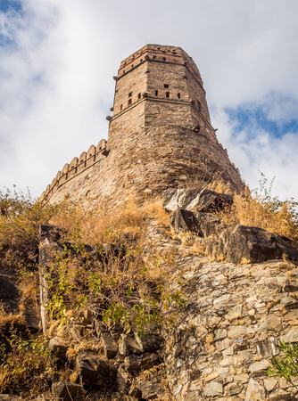 Kumbhalgarh Fort in Rajasthan, one of the biggest fort in India
