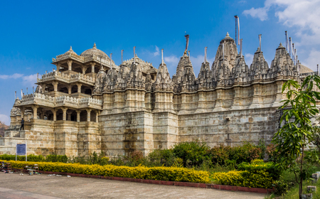 The world biggest and famous jain temple located in Rajasthan, India