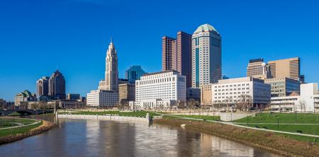 Skyline of Ohio state capital Columbus