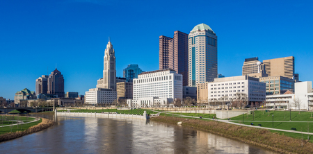 Skyline of Ohio state capital Columbus