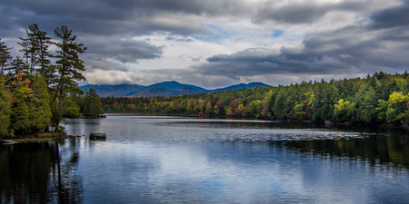 Fall in Adirondack Mountains upstate New York