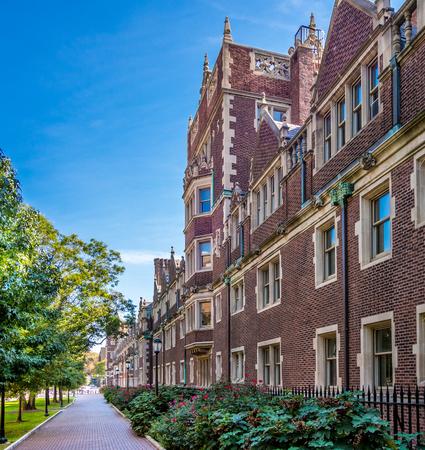 Exteriors of University of Pennsylvania (UPenn) located in Philadelphia