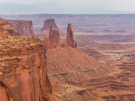 Landscape of Canyonlands National Park in Utah