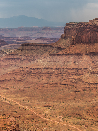 Landscape of Canyonlands National Park in Utah